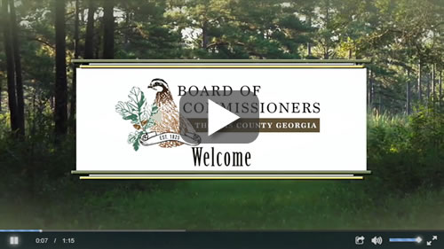 Board of Commissioners Welcome Video